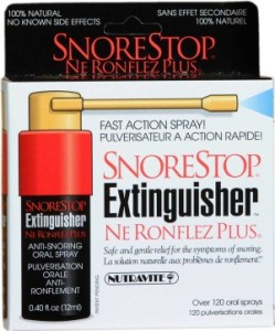 SnoreStop Extinguisher